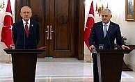 Başbakan Binali Yıldırım Kılıçdaroğlu ile görüştü