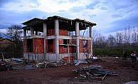 Tokat Erbaa'da inşaattan düşen işçi öldü