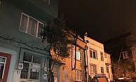 Bursa'da toprak kayması yüzünden 10 ev tahliye edildi