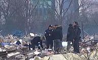Yıkılan Nakliyeciler Sitesi'nde bir ceset bulundu