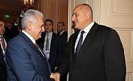 Başbakan Yıldırım Boyko Borisov ile görüştü