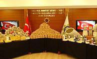 İstanbul'da 350 kilo uyuşturucu ele geçirildi