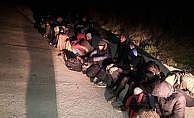 Tekirdağ'da kaçak göçmenleri yol kenarında bırakıp kaçtılar