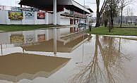 Tunca Nehri su debisi taşkın seviyesine yükseldi