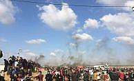 quot;Toprak Günüquot; yürüyüşüne müdahale: 14 ölü, bin 500 yaralı