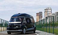 Rusya'da sürücüsüz elektrikli otobüs 'Shuttle' tanıtıldı